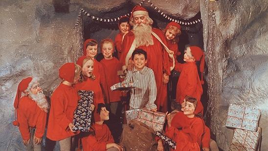 Til julebal i Nisseland med Lille Per og Far til Fire