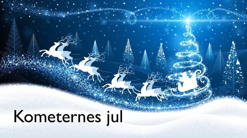 Kometernes Jul på TV2 kl 20 - tv julekalender 2021